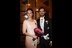 La princesse Sofia et le prince Carl Philip de Suède à Stockholm, le 23 octobre 2015