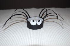 Spinnenteelichter basteln - Kinderspiele-Welt.de