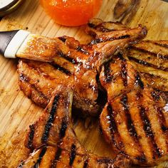 Learn to make Brown Sugar Bourbon Grilled Peach Pork Chops. Read these easy to follow recipe instructions and enjoy Brown Sugar Bourbon Grilled Peach Pork Chops today!