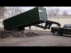 Homemade Container Hauler - YouTube