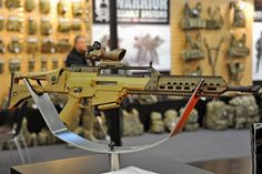 IWA 2014 / New from Heckler & Koch: HK-243, a true semi-automatic civilian version of the G-36 assault rifle