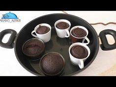 10 Minuets : 4 minutes of delicious Chocolate SUFLE Recipe-No need to bake -Instructed . Delicious Chocolate, Chocolate Desserts, Delicious Desserts, Dessert Recipes, Yummy Food, Chocolate Cake, Sully Cake, Food Words, Bakery