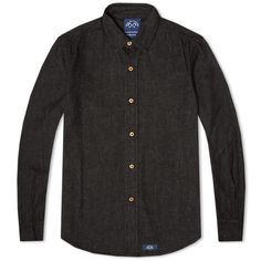 The Bleu de Paname Standard shirt is typical of their honest, unfussy approach to design. Made in France from high quality, durable cotton, the shirt is finished with BDP's signature woven logo tab at the hem.   100% Cotton  Spread Collar Wooden Buttons Gentle Curved Hem Bleu de Paname Logo Patch Made in France