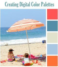 creating digital color palettes