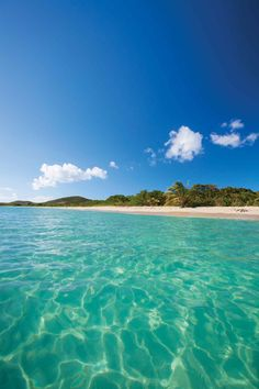 Blue Beach, Vieques, Puerto Rico - Best No-Passport-Required Vacations for Any Budget