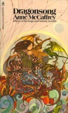 Anne McCaffrey's 'Dragonriders of Pern' books are all magical.