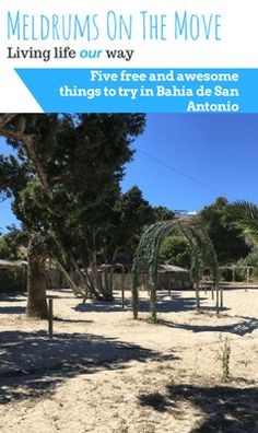 Five free and awesome things to try in Bahia de San Antonio
