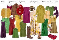 cloth photographyinspir, color schemes, family portraits, family photos, family photo colors, famili portrait, fall photos, bold colors, photo session