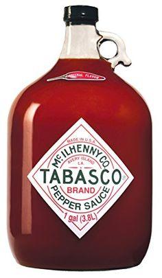 Tabasco Pepper Sauce - 3780 ml / 3,78 Liter / scharfe Chili-Sauce