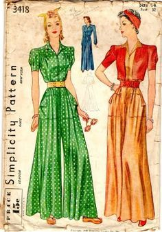 1940s loungewear - Google Search  #RePin by AT Social Media Marketing - Pinterest Marketing Specialists ATSocialMedia.co.uk