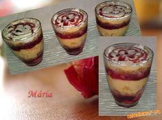 ♥Jahodové trifle...♥