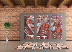 Covorul Retro îi conferă livingului Dvs. un adevărat spirit nostalgic, cu cromatica şi motivele sale retro O Love, Nostalgia, Spirit, Retro, Frame, Design, Home Decor, Picture Frame, Decoration Home