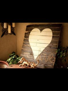 Custom wood pallet by kellyfellin on Etsy, $125.00 @Jaime Velasco you could do this but with the yellow and blue