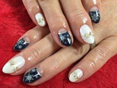 冬ネイル❄️ 【コアフュールKAZU】 http://nail-beautynavi.woman.excite.co.jp/design/detail/393011 ≪ #nail #nails #nailart #softgel #gelnail #ジェルネイル #冬ネイル≫