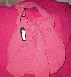 Pink and Orange Sling Bag.