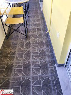 Ολική Ανακαίνιση στο Μετς - Βεράντα - Πλακάκια Tile Floor, Flooring, Tile Flooring, Wood Flooring, Floor