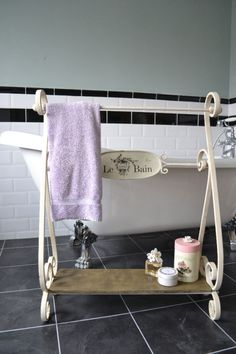 towel and clothes holder