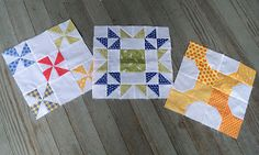 Sewn: We Can Do It! Skill Builder Sampler...more quilt block ideas with tutorials.