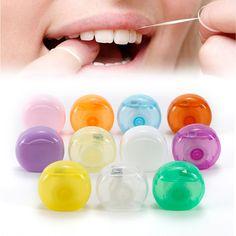 Portable Dental Floss Interdental Brush Floss Pick 10M Dental Care Picks Tooth Cleaner Health Hygiene Oral Care Tool #Affiliate