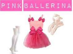 """pink ballerina"" by princess-kirstin ❤ liked on Polyvore"