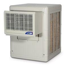 PMI BW4002 Aspen Window Mount Cooler, 4000 CFM (Industry Standard Rating), 1/3 Horse Power, White