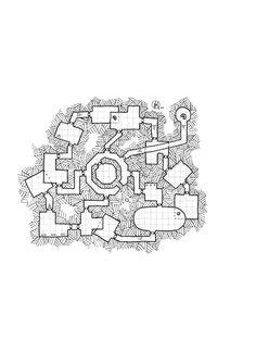 dungeon-6, rpg map , jdr, kosmic dungeon