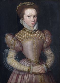Portrait of a Lady, Artist: French, Date made: 1570-5