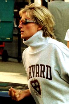 August 21, 1997: Diana, Princess of Wales after leaving a gym in Earls Court, west London.