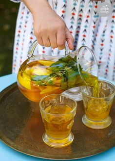 Recipe: Saffron G&Ts | The Simple Things