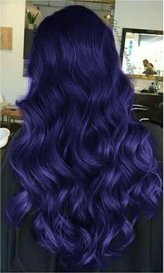 Light Lavender Layers - Purple Ombre Hair Ideas: Plum, Lilac, Lavender and Violet Hair Colors - The Trending Hairstyle Vivid Hair Color, Cute Hair Colors, Hair Color Purple, Hair Dye Colors, Cool Hair Color, Indigo Hair Color, Deep Purple Hair, Ombre Colour, Lilac Hair