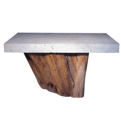 A Large Michael Taylor Console Table