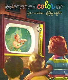 1958 Motorola Color TV