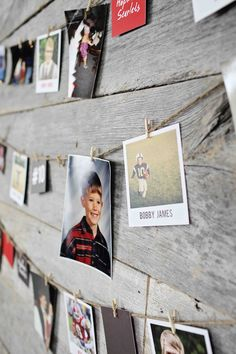 * Could use this type of photo display for other types of parties. All Star Graduation Party Ideas - using our graduation party decorations to share your photos through the years Graduation Party Planning, Graduation 2016, Graduation Celebration, Graduation Decorations, High School Graduation, Graduation Gifts, Graduation Ideas, Graduation Centerpiece, Wedding Decorations