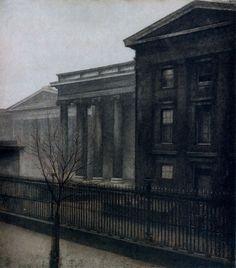 Vilhelm Hammershoi. British Museum