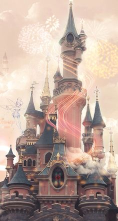 Disney Castle ★ Download more pretty iPhone Wallpapers at @prettywallpaper