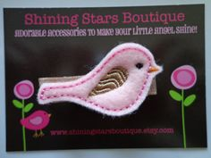 Baby Girl Hair Accessories  Felt Hair by shiningstarsboutique