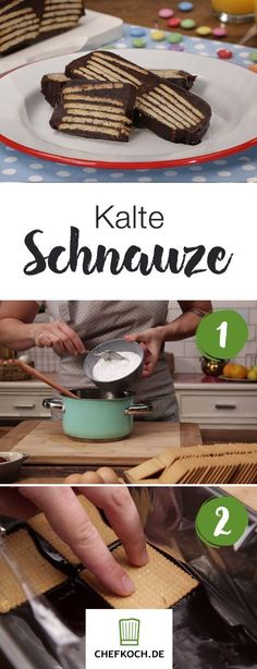 Kalte Schnauze Cake Recipes, Food And Drink, Appetizers, Sweets, Beef, Baking, Ethnic Recipes, Cakes, Sweet Recipes