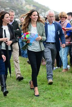 Catherine the Duchess Of Cambridge Outfit