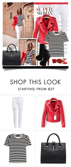 """""""Shein 10 (II)"""" by aida-banjic ❤ liked on Polyvore featuring Karen Millen, DKNY, women's clothing, women's fashion, women, female, woman, misses, juniors and shein"""