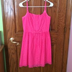 Lilly Pulitzer Dress Great spring/summer dress never worn. Has tags and the fit is great! Price is definitely negotiable. Lilly Pulitzer Dresses