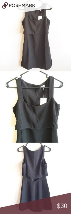"Tobi Skater Dress New black skater dress from Tobi. Size X-Small. 100% Polyester. Length from top to bottom: 34"". Armpit to armpit: 17"". Tobi Dresses"