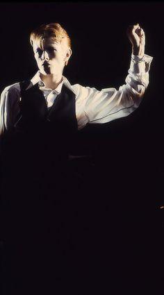 "David Bowie, ""Station To Station"", Circa 76 🚉 David Bowie, Ziggy Played Guitar, Station To Station, The Thin White Duke, Slow Burn, Life On Mars, Dominique, Ziggy Stardust, David Jones"