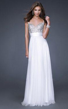 sequined bridesmaid dresses   White Sequin Prom Dress 2013 Long Cheap [White Sequin Prom Dress] - $ ...