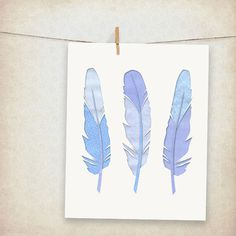 security envelope feathers print... love this!