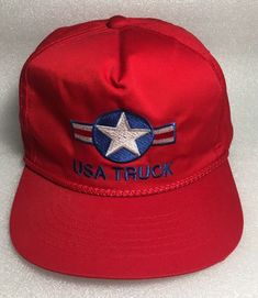 e956bbc31c1bf Excited to share this item from my  etsy shop  Vintage USA Truck Snapback  Hat