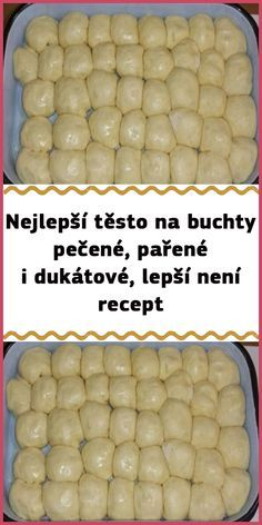 Czech Recipes, Bread Recipes, Food And Drink, Cheese, Homemade, Vegetables, Breakfast, Nutella, Cake