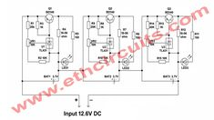 Simple Diy, Easy Diy, Power Supply Circuit, Circuit Diagram, The Help, Charger, Management, Circuit