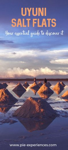 The Uyuni Salt Flats in Bolivia are one of the most unique places on Earth! We explain when to visit, what to bring and the best tour options. Places To Travel, Places To See, Bolivia Salt Flats, Bolivia Travel, South America Travel, Luxury Travel, Travel Inspiration, Tourism, Travelling