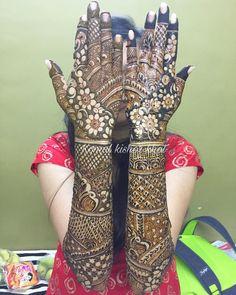 Henna Design By Fatima Wedding Henna Designs, Full Mehndi Designs, Engagement Mehndi Designs, Latest Bridal Mehndi Designs, Indian Mehndi Designs, Mehndi Design Pictures, Mehndi Designs For Girls, Stylish Mehndi, Beautiful Mehndi Design