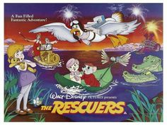 The Rescuers movie poster